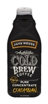 Java House Authentic Cold Brew Colombian Black 2:1 Concentrate - 32 Oz.