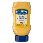 Hellmann's Condiment Mustard Squeeze Bottle - 14 oz.