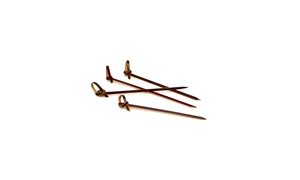 Knotted Bamboo Pick Sepia - 4.5 in.