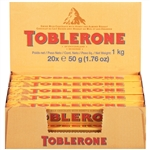 Toblerone Chocolate Bar Milk Chocolate - 1.76 Oz.