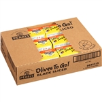 Black Sliced Olives Cup - 6 Oz.