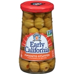 Early California Pimento Stuffed Manzanilla Olive - 5.75 Oz.