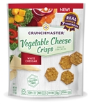 Crunchmaster White Cheddar Vegetable Cheese Crisps - 4 oz.