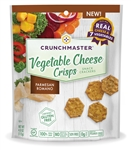 Crunchmaster Parmesan Romano Vegetable Cheese Crisps - 4 oz.