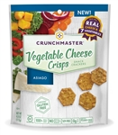 Crunchmaster Asiago Vegetable Cheese Crisps - 4 oz.