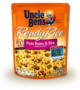 Uncle Bens Ready Rice Pinto Bean and Mexican Rice