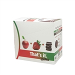 Dark Chocolate Apple Plus Strawberry Bites - 1.83 oz.