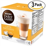 Nescafe Dolce Gusto Coffee Roast and Ground Latte Macchiato - 0.428 Oz.