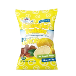 Amazin Raisin Sour Lemon Infused Raisins - 1.3 oz.