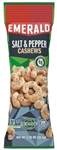 Emerald Sea Salt and Pepper Cashews - 1.25 Oz.