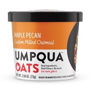 Umpqua Oats Super Premium Maple Pecan Oatmeal - 2.57 Oz.
