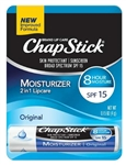 ChapStick Lip Moist. Regular Blister Card Tray - 0.15 Oz.