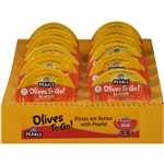 Pearls Black Sliced Ripe Olive Cup - 1.4 Oz.