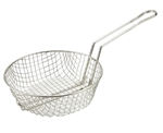 Nickel Plated Culinary Basket - 10 in.