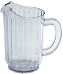 SAN Plastic Water Pitcher Clear - 32 Oz.