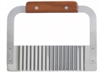 Stainless Steel Serrator with Wooden Handle - 7 in.