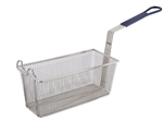 Fry Basket Blue Handle - 13.25 in. x 5.63 in. x 5.63 in.
