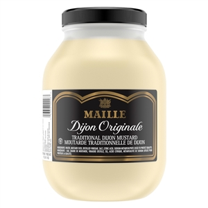 Maille Condiment Mustard Smooth Dijon - 1 Gallon