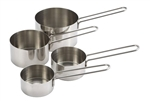 Measuring Cup Set Stainless Steel 4 Pieces Wire Handle