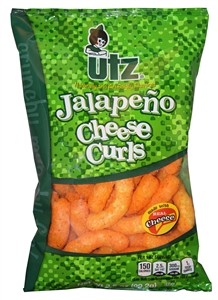 Jalapeno Cheese Curls - 3.5 Oz.