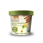 Organic Apple Cinnamon Ginger Oatmeal - 50 Gram