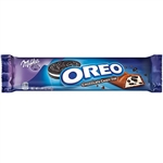 Milka Oreo Cookies And Creme Chocolate Bar - 1.44 Oz.