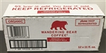 Wandering Bear Organic Mocha Cold Brew with Coconut Milk - 11 Fl. Oz.
