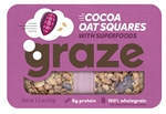 Cocoa Oat Squares With Superfood - 1.5 Oz.