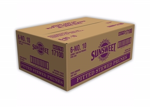 Sunsweet Can Pitted Prune in Water - 10 Lb.