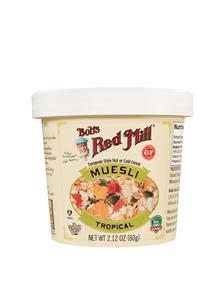Bob's Red Mill GF Tropical Muesli Cup - 2.12 oz.
