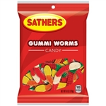 Sathers Pal Gummi Worms - 6 oz.
