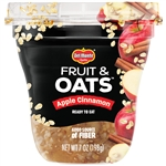 Delmonte Fruit and Oat Apple Cinnamon Fruit Cup - 7 Oz.