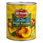 Delmonte Sliced Peaches In Extra Light Syrup - 105 Oz.