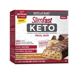 SlimFast Keto Whipped Peanut Butter Meal Replacement Bar - 1.48 Oz.
