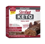 SlimFast Keto Whipped Triple Chocolate Meal Replacement Bar - 1.48 Oz.