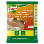 Knorr Sauces Gravies Low Sodium Gluten Free Brown Gravy Mix