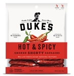 Dukes Hot and Spicy Pork Sausages - 5 oz.