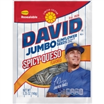 David Spicy Queso Jumbo Sunflower Seeds - 5.25 Oz.