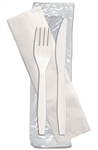 Senate White Fork, Knife Napkin