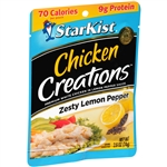 Chicken Creations Lemon Pepper Chicken - 2.6 Oz.