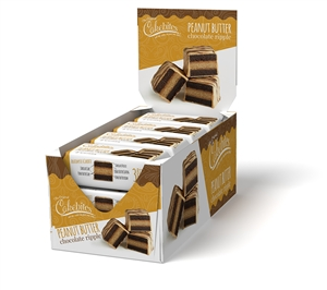 Cakebites Peanut Butter Chocolate Ripple - 2 Oz.