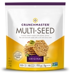 Crunchmaster Multi-Seed Display Shipper Original and Rosemary Olive Oil - 4 Oz.