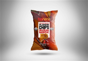 Barnana BBQ Plantain Chips - 5 Oz.