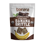 Dark Chocolate Banana Brittle - 3.5 oz.