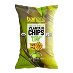 Barnana Lime Plantain Chips - 5 Oz.