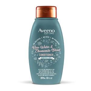 Aveeno Rose Water and Chamomile Blend Conditioner - 345 Ml.