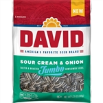 David Sour Cream And Onion Sunflower Seeds - 5.25 oz.