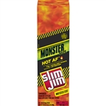 Slim Jim Hot AF Flavor Monster Smoked Meat Snack Stick - 1.94 oz.