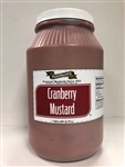 Plochmans Cranberry Mustard - 1 Gallon