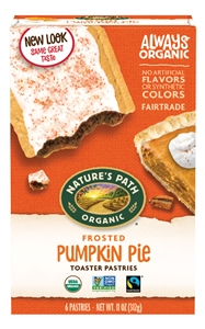 Natures Path Frosted Pumpkin Pie Toaster Pastry - 11 Oz.